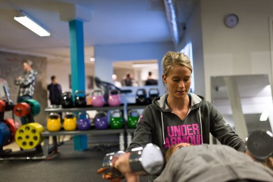 Kom i form med en personlig træner i Århus